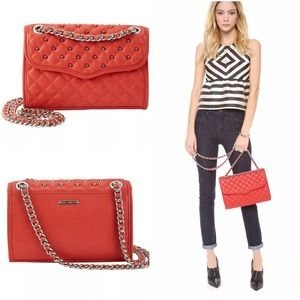 New Rebecca Minkoff mini quilted affair with studs