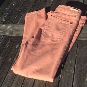 Pilcro and the Letterpress Stet Peach Jeans 28