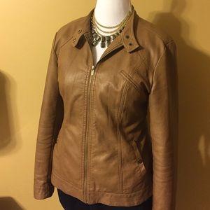 Style & Co Jackets & Blazers - Vegan Leather Jacket