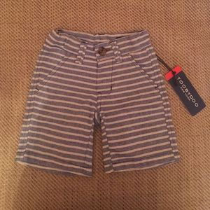 Toobydoo Other - TOOBYDOO 12-18 M Boys Striped Chino Shorts