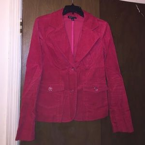 Pink Corduroy Blazer Sz 8