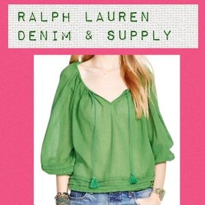 Denim & Supply Ralph Lauren Tops - RL Denim & Supply, XS boho top