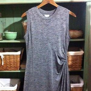 Belle Sky Dresses & Skirts - Side Pin-tucked Dress