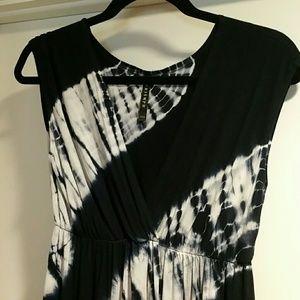 Triumph Dresses & Skirts - Long  maxi  blue tie dye dress NEW!