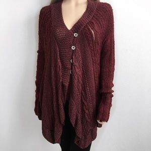 Free People Sweaters - Free People Knitted Cardigan🍂❤️