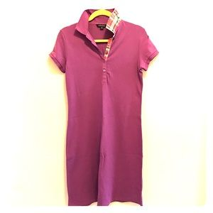 Land's End Purple Polo Dress