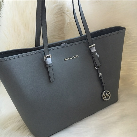how to purchase 100% satisfaction new lower prices MICHAEL KORS grey tote NWT