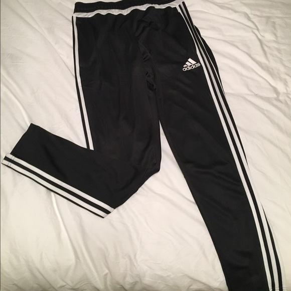 adidas skinny track pants
