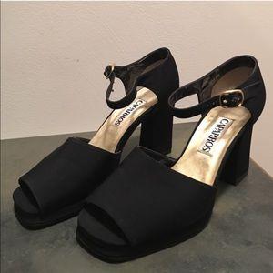 Caparros Shoes - Black Caparros Heels; size 6.5B