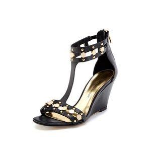Sigerson Morrison Shoes - Sigerson Morrison Hadiya Studded Wedges