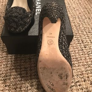 CHANEL Shoes - Chanel tweeted pumps