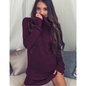 NWT oversized sweater dress