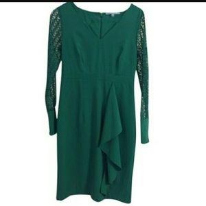 ANTONIO MELANI Dresses & Skirts - HOLIDAYS! Antonio Melani Lace Sleeve Dress