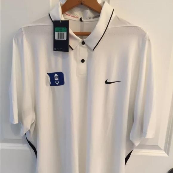 111e2fbd NIKE Tiger Woods Collection DUKE Golf Polo sz. XL.  M_582e61e98f0fc4340d007f6b