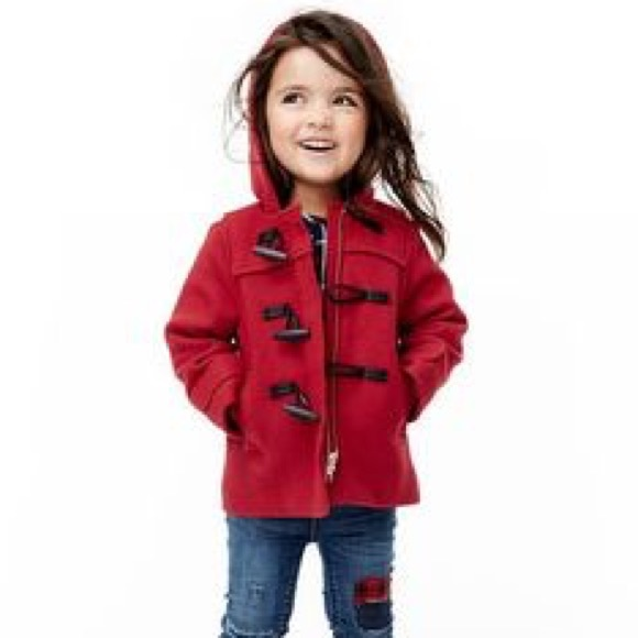 75% off GAP Other - Red Gap Duffle coat for toddler from Diana's ...