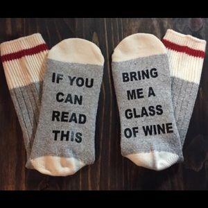 Accessories - Bring Me Wine Socks 🍷🍷🍷