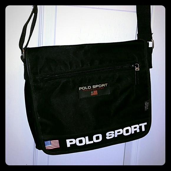 f6d69a34d2 ☆flash sale☆Polo sport logo messenger bag. M 582e63d3713fde033f008846