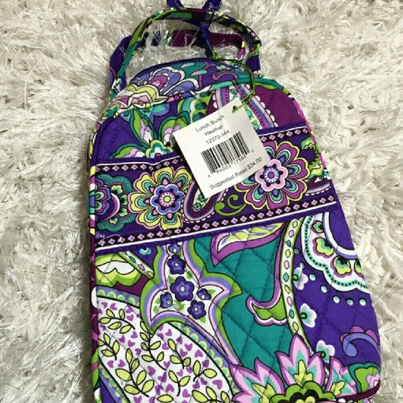 Vera Bradley Bags   Heather Lunch Bunch Baby Bottles Tote Bag   Poshmark 7becee719e