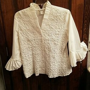 Nexx Tops - White formal blouse