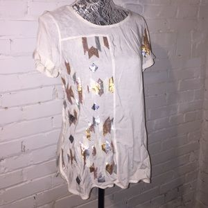 stylus Tops - NWOT STYLUS (JCP) SEQUINED TOP
