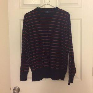 J. Crew Other - J.Crew 100% cotton striped crew neck sweater