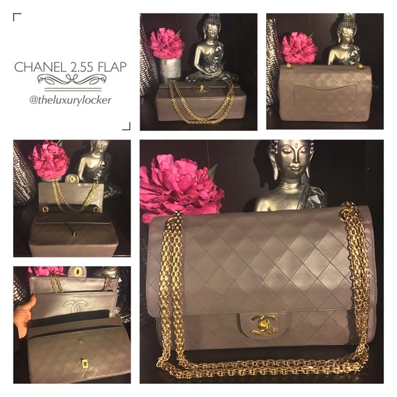 chanel 2 55. chanel bags - 100% auth 2.55 classic flap medium 10\ chanel 2 55