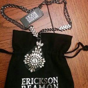 Erickson Beamon Jewelry - 🆕Erickson Beamon Rocks Crystal necklace
