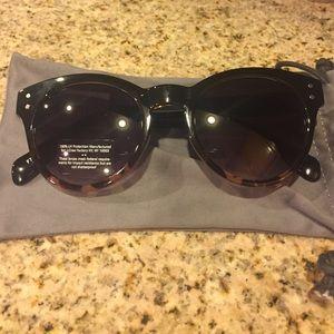 J.Crew classic tortoise shell sunglasses