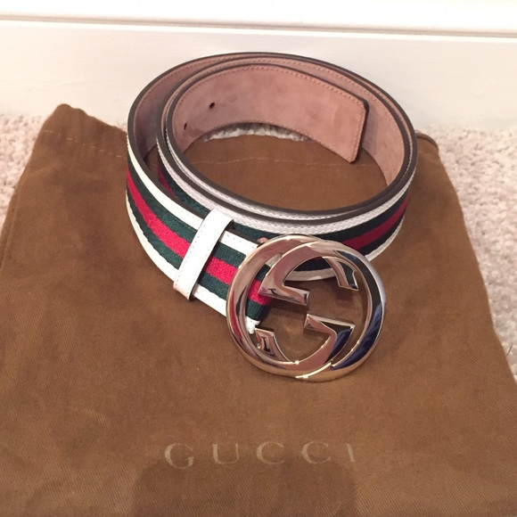 1984d54c4ea Gucci Other - Gucci Belt in classic colors! 🔴⚪ ☘ size 38