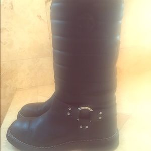 Authentic Chanel Snow Boots