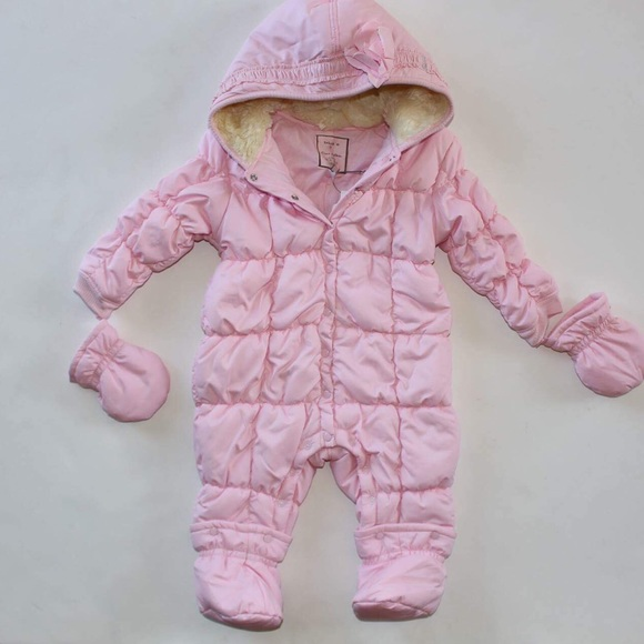 09be0c73b Taille O Jackets & Coats | Baby Girls Snow Suit | Poshmark