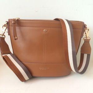 Spartina 449 Handbags - Spartina 449 Leather Brown Crossbody Purse