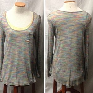 Miraclesuit Tops - Miracle Body top w/attached shape-wear. Size Sm.