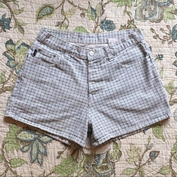 5cc884adc7 Vintage Shorts | 90s High Waisted Plaid | Poshmark