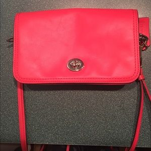 Coach legacy penny crossbody bag clutch neverused