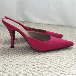 Pink Stain Heels size 7