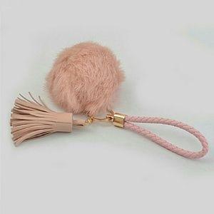 Fur ball keychain