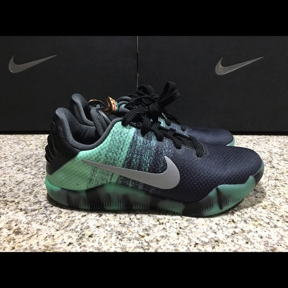 682a0ce87e1e Boys Nike Kobe XI All Star Green Glow 824411-305