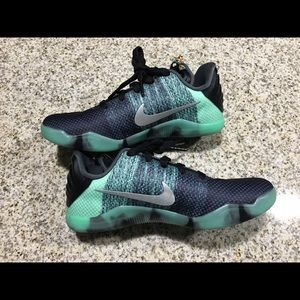 ee38a86fa5e7 Nike Shoes - Boys Nike Kobe XI All Star Green Glow 824411-305