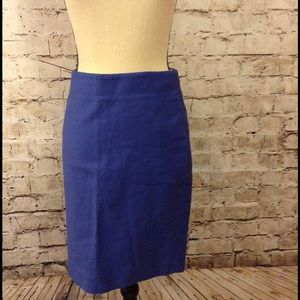 J. Crew Dresses & Skirts - J Crew Slate Blue No.2 Pencil Skirt NWOT Size 0