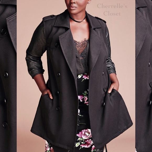 d2de225d1c7 Fall Winter 2016 Torrid Trench Coat Plus Size