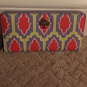 Kate Spade printed wallet