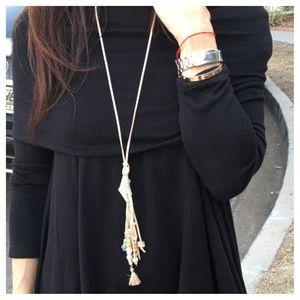 Jewelry - 🆕 Paris tassel necklace ONE HOUR SALE LAST ONE
