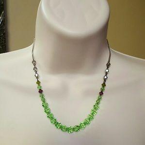 Handmde Swarovski Crystal Necklace