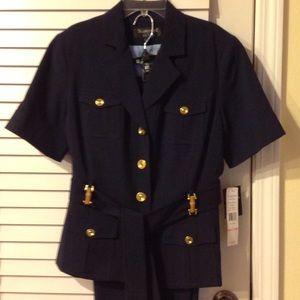 Larry Levine Jackets & Blazers - NWT Larry Levine two piece suit