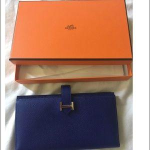 Hermes Handbags - Hermes bearn wallet