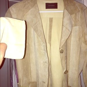 Santoni Other - Santisima 100% Leather trench coat