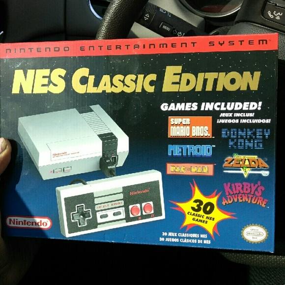 Other Nintendo Nes Classic Mini Poshmark