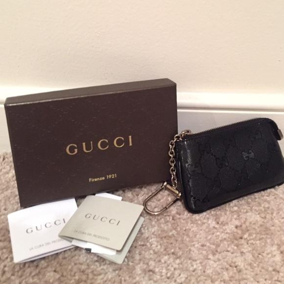 5783e2ccd Gucci Accessories | Gg Black Coin Pouch For Men Or Women | Poshmark