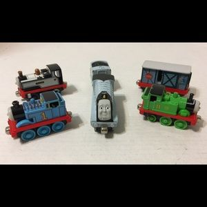 Thomas & Friends Other - Thomas the Train Die Cast Take Along Trains Used